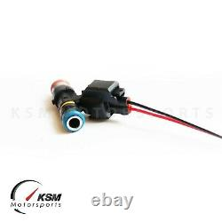 5 x 1000cc fuel injector for Bosch FORD FOCUS MK2 2.5T RS ST EV14 High Impedance