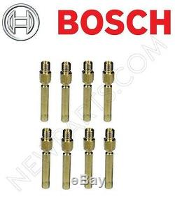 For Mercedes R107 R129 W124 Bosch Fuel Injector Set of 8