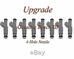 Genuine Bosch UPGRADE Flow Matched Fuel Injector Set For Ford 5.4 05-07 8-5C3E